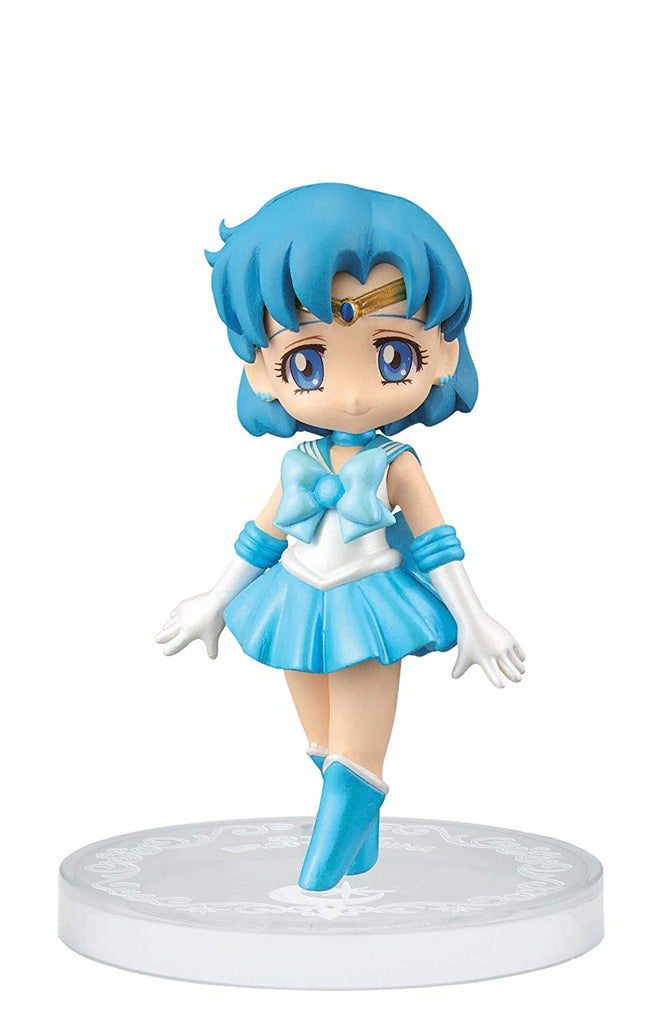 Banpresto Sailor Moon 2.4-Inch Crystal Collectable Figure for Girls Sailor Mercury Figure, Volume 1