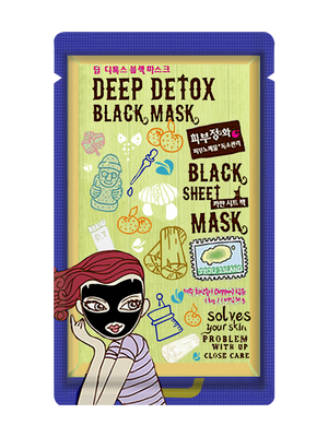 Deep Detox Black Mask - 1 sheet