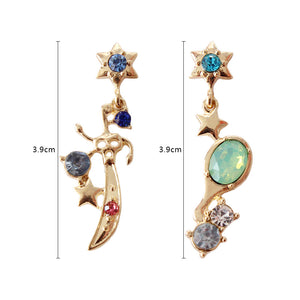 Neptune & Uranus Earrings