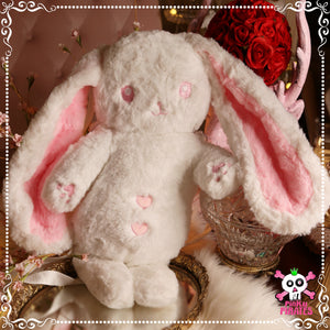 Kawaii Sweet Bunny Plushie Backpack