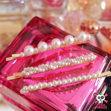 3 Pcs Pearl Hairpin Set