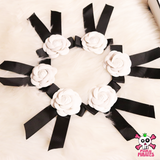 Flower Ribbon Brooch