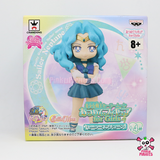 "Banpresto Sailor Moon Collectible Figure for Girls 2.4"" Sailor Neptune Figure, Volume 4"