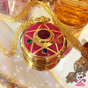 Bright Star Necklace Pocket Watch