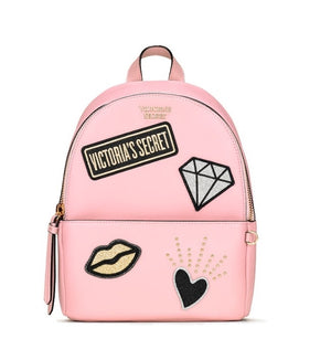 VS Rose Pink Patch Mini Backpack