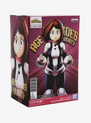 MY HERO ACADEMIA AGE OF HEROES VOL.3 URAVITY COLLECTIBLE FIGURE
