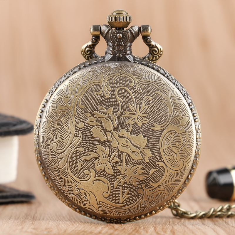 Fashion Vintage Style Pocket Watch