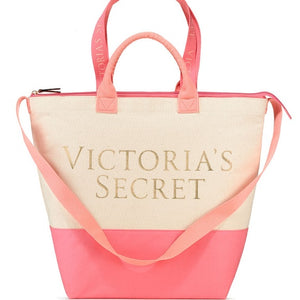 Victoria's Secret Canvas Cooler Tote Bag