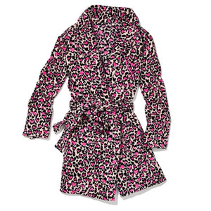 Victoria's Secret Leopard Pink Robe