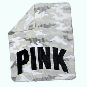 "VS Camo Warm Cozy Soft Fleece Throw Blanket 50""x 60"""