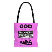 God & Swag Tote Bag-African American Bags-Afrocentric Tote Bag-Melanin Magic