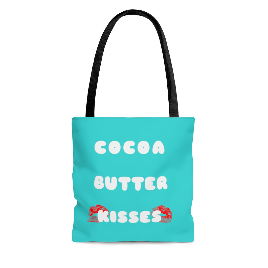 Cocoa Butter Kisses Tote Bag-Afrocentric Tote Bag-African American Bags - kemetistry