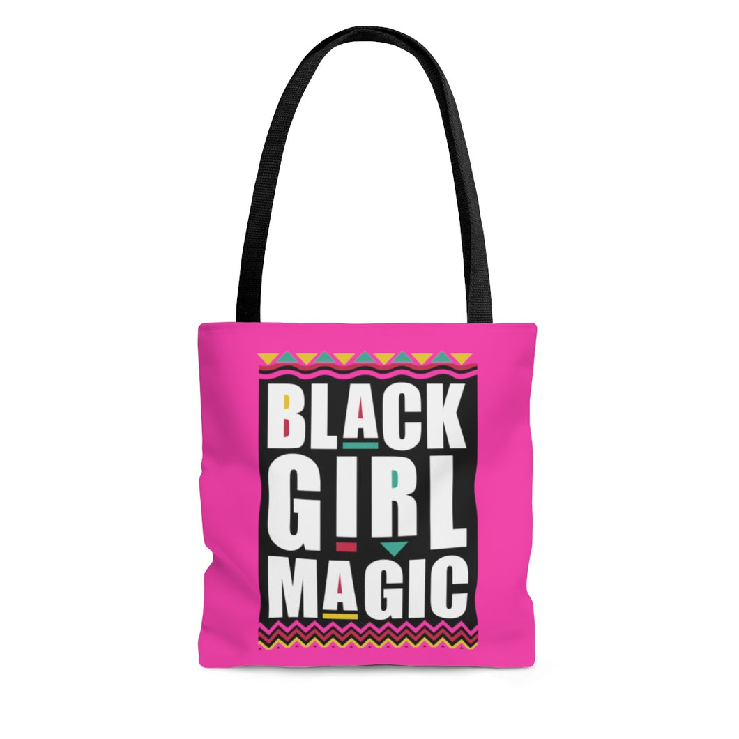 Black Girl Magic Tote Bag - African American Bag - Gift for Black Girl - Afrocentric Tote Bag- - kemetistry