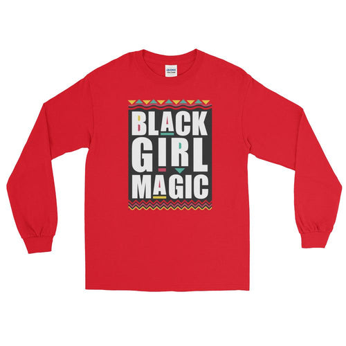 Black Girl Magic Long Sleeve T-Shirt - kemetistry