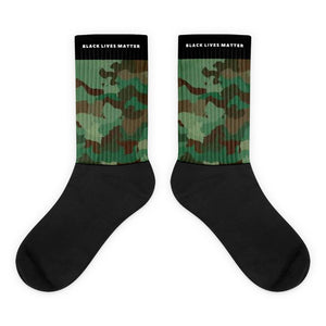 Black Lives Matter Camo Socks - kemetistry