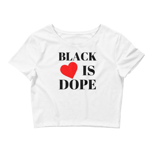 Black Love is Dope Crop Tee - kemetistry