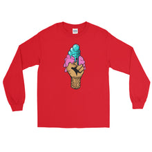 Ice-cream Fist of Justice Long Sleeve T-Shirt - kemetistry