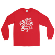 100% Pure Brown Sugar Long Sleeve T-Shirt - kemetistry