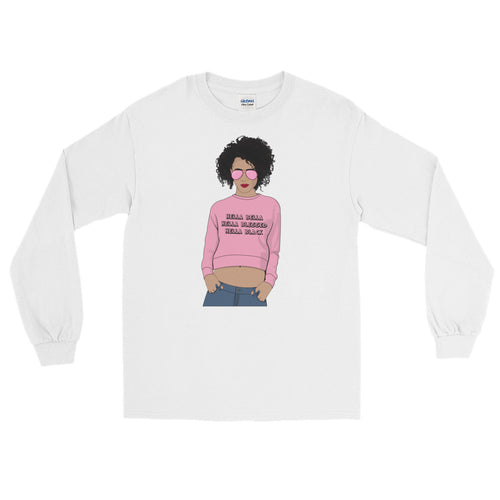 Hella Black Long Sleeve T-Shirt