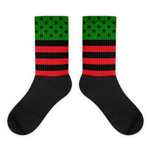 RBG Flag and Stars Socks - kemetistry