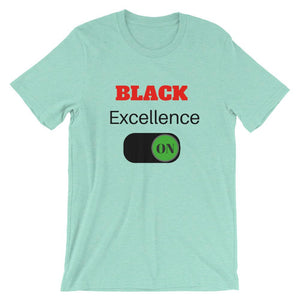Black Excellence On Unisex T-Shirt - kemetistry