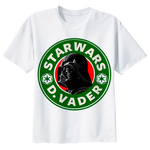 "Darth Vader ""Star Wars D. Vader"" Star Wars T-shirt - moviesforce.com"