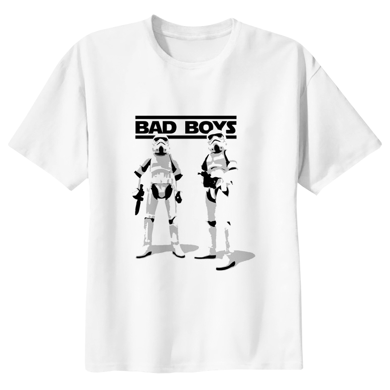"Stormtrooper ""Bad Boys"" Star Wars T-shirt - moviesforce.com"