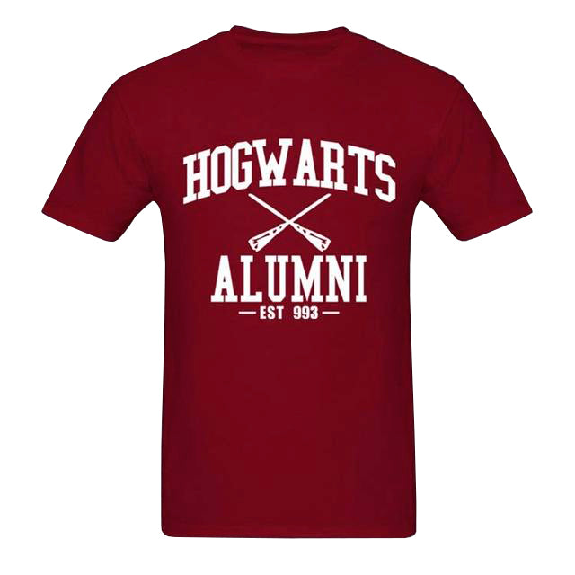 """Hogwarts Alumni est. 993"" Harry Potter T-Shirt 