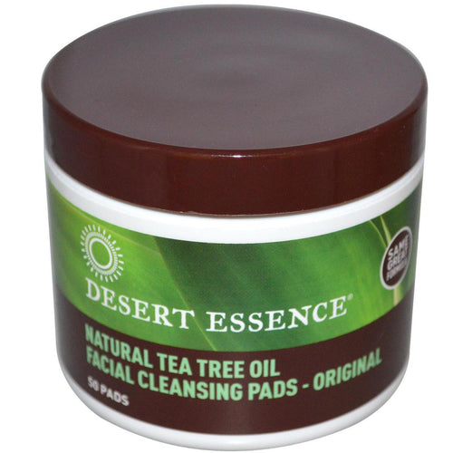 Desert Essence Tea Tree Cleansing Pads