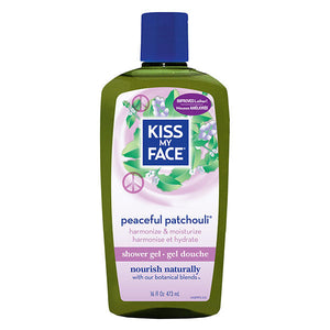 Kiss My Face Bath and Body Wash Peaceful Patchouli