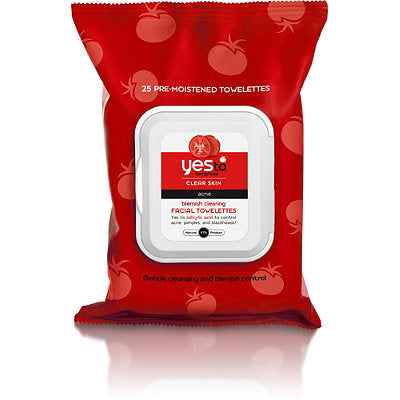 Yes To Tomatoes Blemish Clearing Facial Towelettes