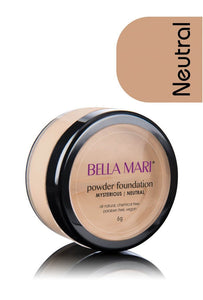 Natural Mineral Powder Foundation - Shades in Cool, Neutral, Warm, Matte