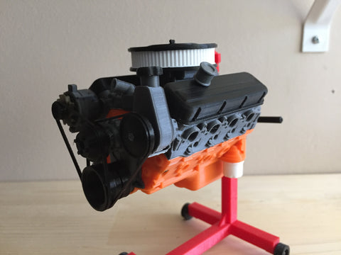Big Block 454 Scale model engine