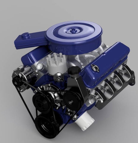 1:8 SBF OEM Model Engine for MFab Bronco