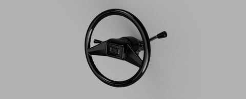 Chevy Style Steering Wheel and Column