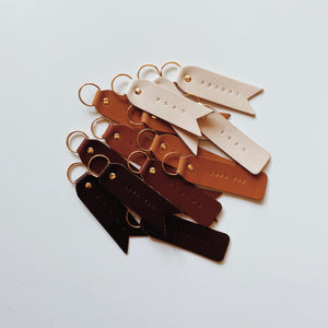 Our Favorite Words: Keychains