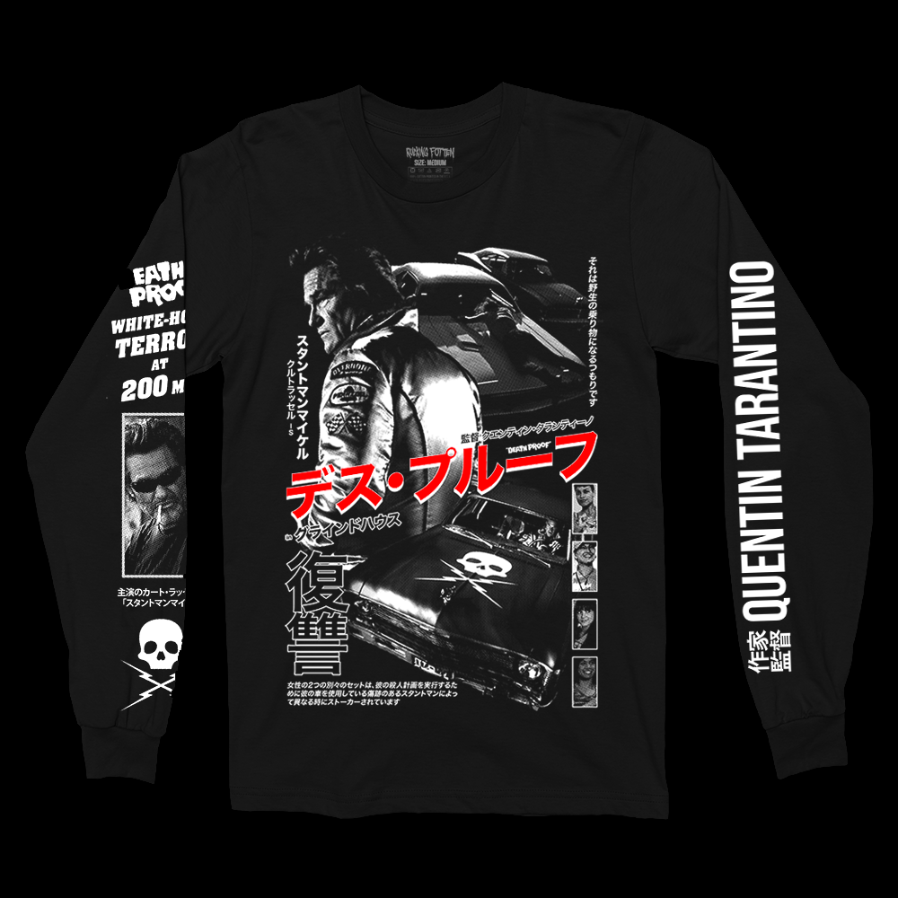 デス・プルーフ DEATH PROOF '04 (Long Sleeve / Timed)