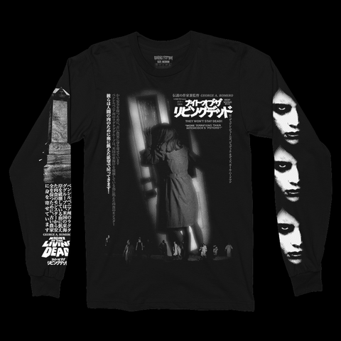 ナイト・オブ・ザ・リビングデッ NIGHT OF THE LIVING DEAD® '68 (Long Sleeve/ White Limited /100)