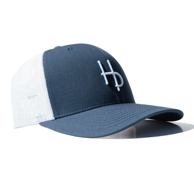 HP Mesh Snapback - Navy Blue
