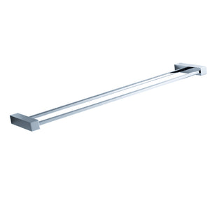 "Fresca Ottimo 21"" Double Towel Bar - Chrome"