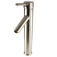 Fresca Soana Single Hole Vessel Mount Bathroom Vanity Faucet - Brushed Nickel