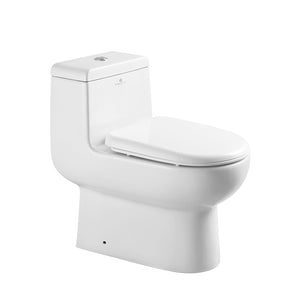 Fresca Antila One-Piece Dual Flush Toilet w/ Soft Close Seat
