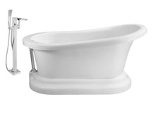 "Faucet and Tub Set Streamline 60"" Freestanding NH120CH-100"