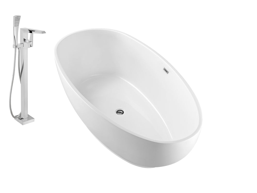 Faucet and Tub Set Streamline 63