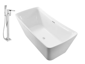 "Faucet and Tub Set Streamline 62"" Freestanding NH540-100"