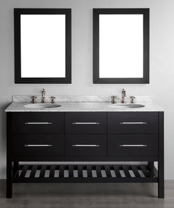"60"" Bosconi SB-250-5 Contemporary Double Vanity"