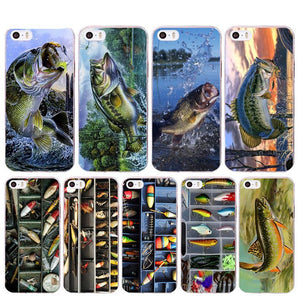 Bass in Action iPhone Case