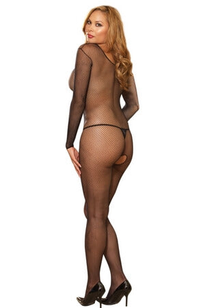 Amsterdam Open Crotch Diva Fishnet Bodysuit