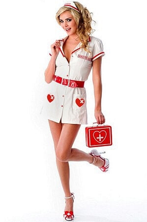 Nurse Feel Good Set - LingerieDiva