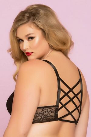 Diva Black Sleepover Bra